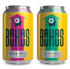 Bauhaus Brew Lab Cans #packaging #beer #can #label