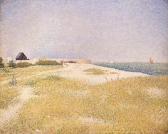 George Seurat, View of Fort Samson, 1885