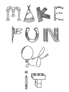 Christian Soulliere | Tumblr #print #letterforms #drawn #written #type #hand #humor #typography