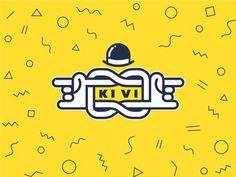 KiVi logo sign