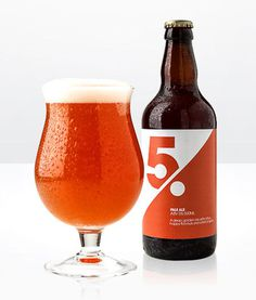 Five Per Cent #beer #packaging