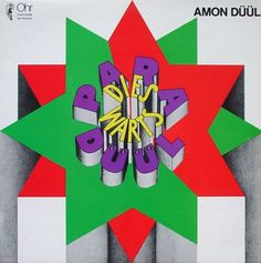 All sizes | Amon Düül | Paradieswärts Düül | Flickr - Photo Sharing! #album cover #hand drawn type