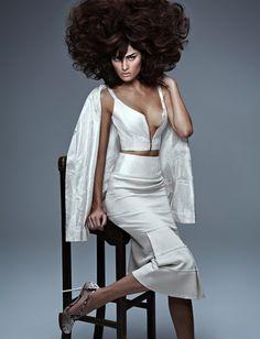 Isabeli Fontana by Zee Nunes for Vogue Brazil September 2013