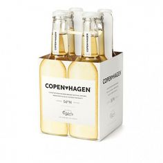 Copen*hagen by Carlsberg « Below The Clouds #packaging #beer #carlsberg #copenhagen