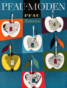 All sizes | Walter Breker Illustration 2 | Flickr - Photo Sharing! #walter #1950s #illustration #breker #pfaumoden
