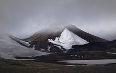 A mountain in Iceland. Photographed by Jakob Walter #inspiration #mountain #photography