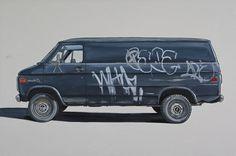 kevin_cyr #graffiti #van #painting