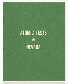 SFMOMA | United States Atomic Energy Commission | Atomic Tests in Nevada