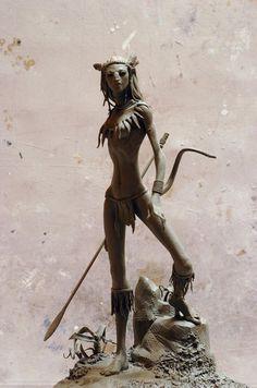 Neytiri.jpg (image) #neytiri #sculpture #avatar
