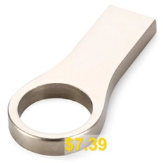16GB #USB #2.0 #Flash #Memory #Metal #Design #- #SILVER
