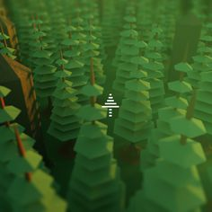 #beatracer #low #poly #jmchoe #lilasoft #green #tree