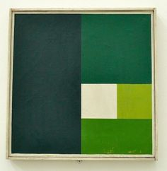 All sizes | Ausstellung Max Bill zum 100. Geburtstag | Flickr - Photo Sharing! #abstract #shapes #art #green