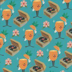 Dabs Myla Thinkspace Pow Wow #pineapple pattern