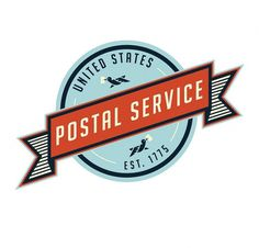 Postal Service #illustration #logos #branding #typography