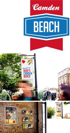 Roundhouse xe2x80x94 Camden Beach #logo #sun #summer #signage #fun