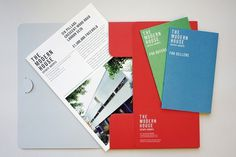Hyperkit - The Modern House #print #colour #identity #hyperkit