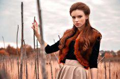 Stunning Redhead Portraits by Vitaliy Zubchevskiy