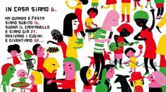 Topipittori #spread #illustration #book #people