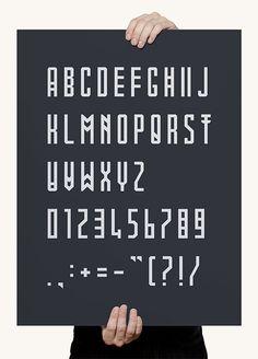Mowai font on Behance #mowai #typography