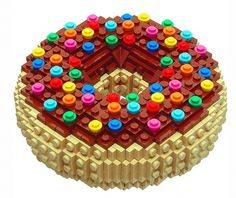 tumblr_lym2qqOsLX1qj4xvwo1_1280.jpg 600×506 pixels #bruce #lowell #lego #donut