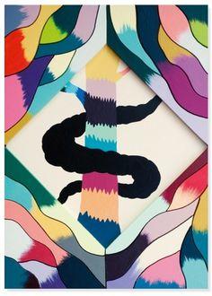 Carribean Nights - Hvass&Hannibal #poster #art