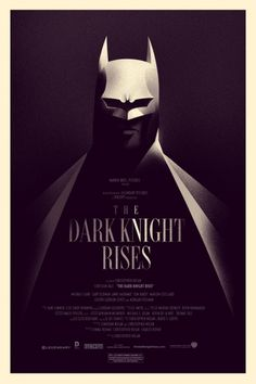 Mondo: The Archive | Olly Moss The Dark Knight Rises Variant, 2012 #movie #posters