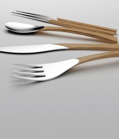 natural #cutlery #spoon #design #knife #fork