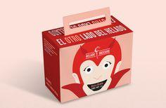 UFFA - Helado Obscuro #uffa #packaging #mexico #cream #design #food #illustration #ice #character