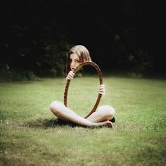 CJWHO ™ (Invisible by Laura Williams Camera:NIKON D5100...) #photogaphy #grass #mirror #art #invisible
