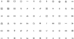 Squarespace Iconography by Ryan Quintal — #icon #icons #icondesign #iconset #iconography #iconic #picto #pictogram #pictograms #symbol #sign #zeichensystem #piktogramm #geometric #minimal #graphicdesign #mark #enblem #grid #icongrid #gridsystem #iconmanual #manual