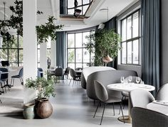 Modern Nordic Restaurant Decor