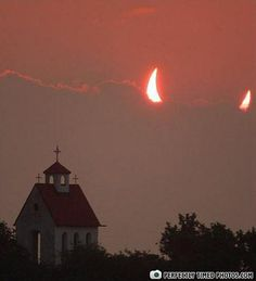Perfectly Timed Photos - Here comes Chuck Norris #devil #hell #heaven