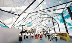 The Roof Deck Flash Forward School of Architecture on Behance #project #architect #school #architecture #work