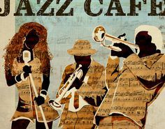 NEWS — kylemosher.com #cut #trumpet #jazz #cafe #illustration #art #collage #paper