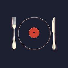 Vinyl Food by Koning