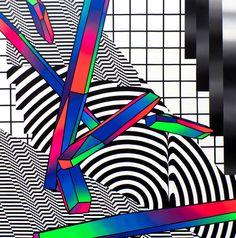 #pantone #gradient #rgb #psychedelic