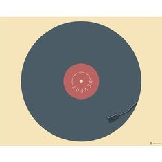 Revert #creative #vector #revert #design #graphic #record #cabbage #vinyl