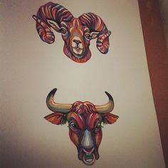 @catfly Kate Shapiro #horoscope #illustration #drawing #art