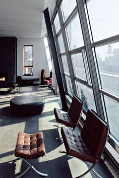 CJWHO ™ (Schein Loft, Manhatten, NYC by Archi Tectonics ...) #design #new york #interiors #loft #luxury #manhatten