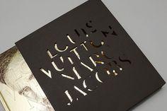 NR2154 #die #cut #marc #jacobs #book #nr2154 #illustration #identity #gold #louis #vuitton