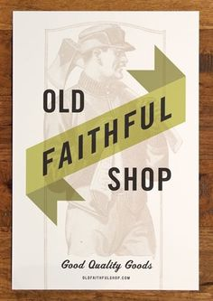 Old Faithful Shop by PTARMAK #poster