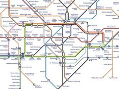 A Perfect Design? - Jamie Wieck - Design, Illustration & Creative Thinking #information #visualisation #london #design #subway #data #beck #maps