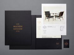 lovely stationery maison gerard 3 #print #branding #stationery