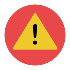 See more icon inspiration related to error, warning, attention, notice, signaling and signs on Flaticon.