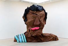 larger than life paper busts by jose lerma + hector madera #character #hctor #& #lerma #art #paper #madera #jos