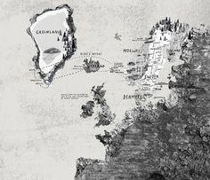 NOMA Phaidon www.hannahwarren.com #map