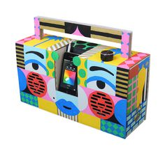 Berlin Boombox by @mkrnld #berlin #boombox #pattern #painting #illustration #mkrnld