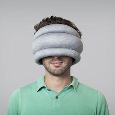 Ostrich Pillow agora podes dormir onde quiseres #ostrich #design #sleep #product #pillow #industrial #rest