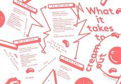 Woifi Ortner — Graphic Designer, Linz/Austria #illustration #805 #pantone #cream #egg
