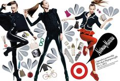 Neiman Marcus target Karlie Kloss campaign #target